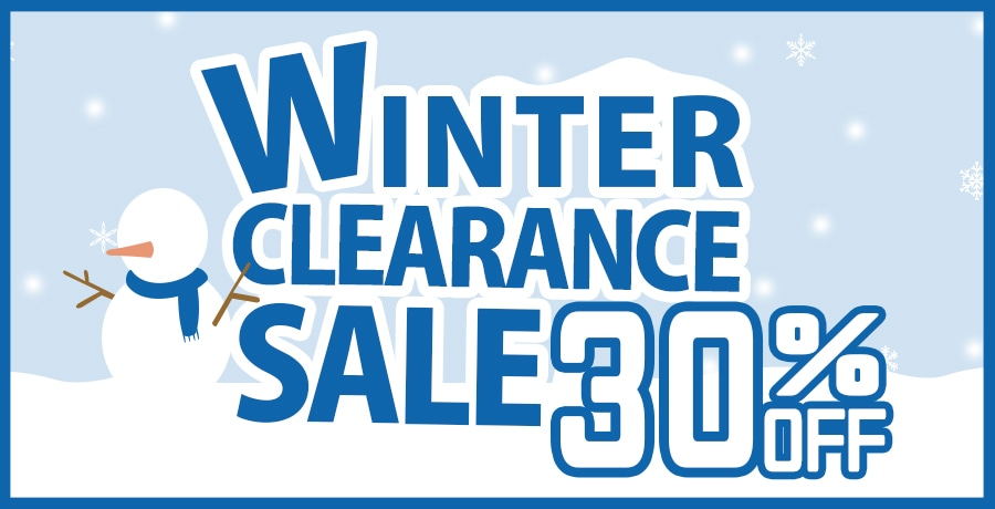【Clearance】2018Fall&Winter Clearance Sale!!!