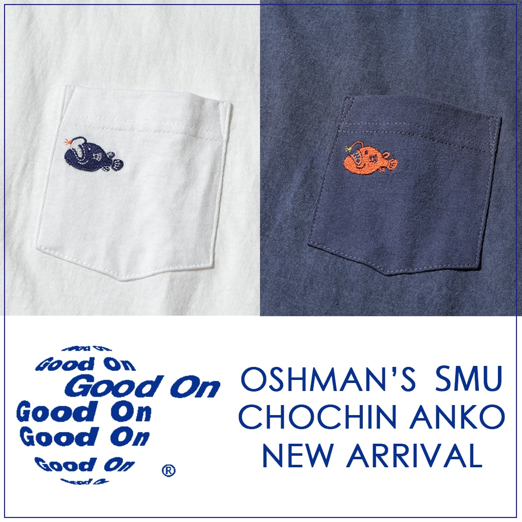 【GOOD ON】OSHMAN'S別注 TEE!