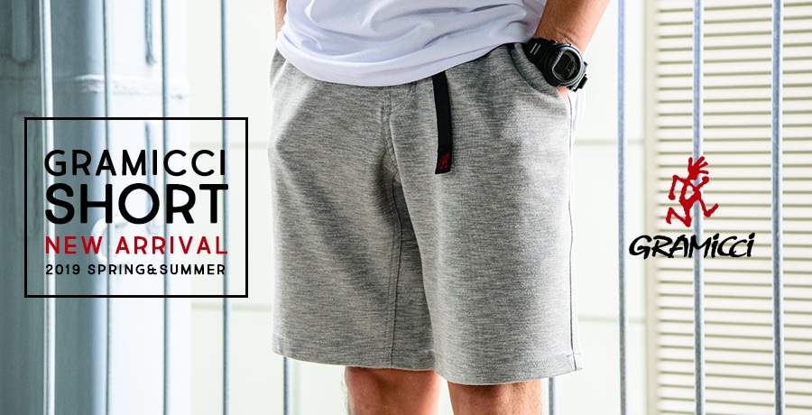 【Gramicci】2019 Spring&Summer Shorts Collection!
