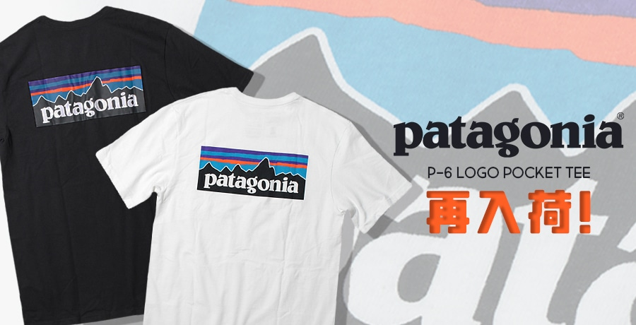 【Patagonia】2019 Spring&Summer Tee Collection!!!