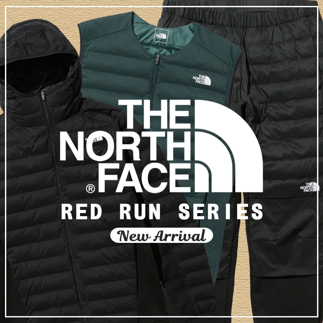 【The North Face】Red Run 2018Fall&Winter Collection!!!