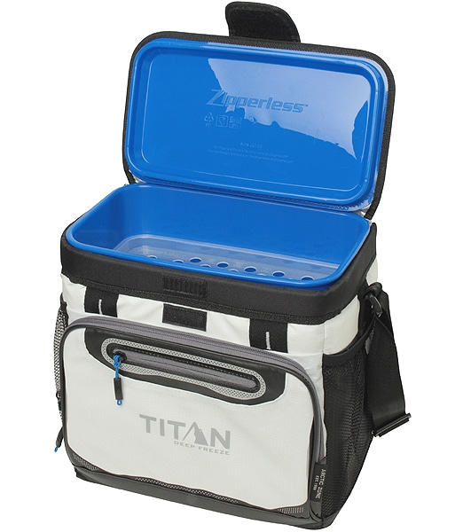 ARCTIC ZONE 16 Can Titan Deep Freeze Zipperless Cooler