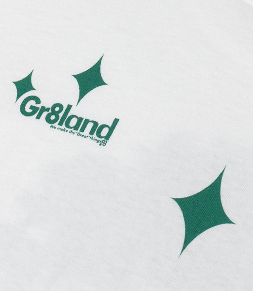 GR8LAND More Green Tee 2019SS