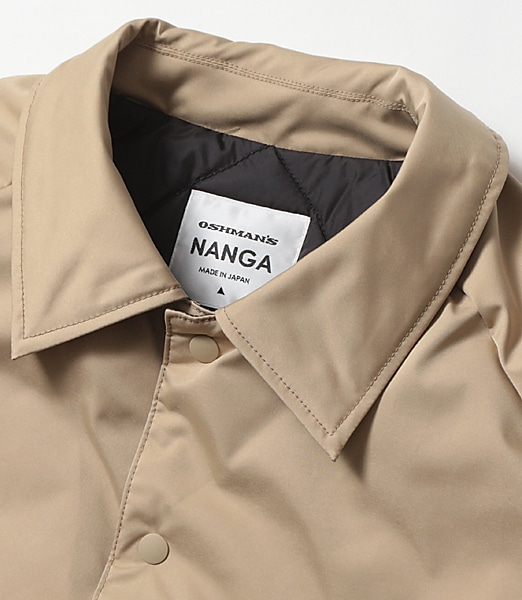 NANGA Down Coach Jacket 【OSHMAN'S別注】 2018FW