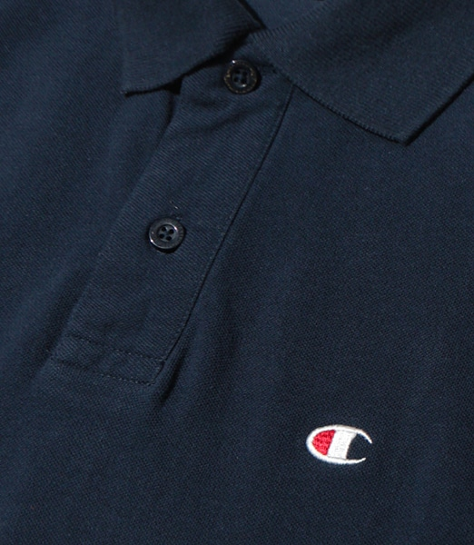 CHAMPION Solid Pique Polo-Shirt 2019SS