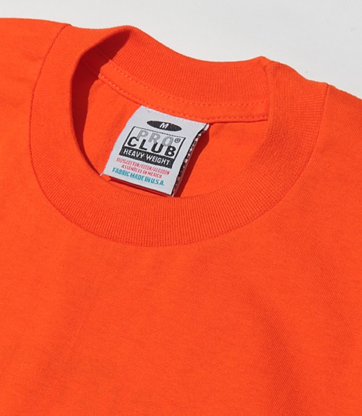 PROCLUB Heavy Weight Crewneck S/S #101