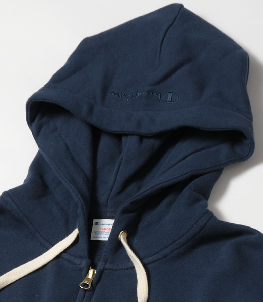 CHAMPION Embroidary Full Zip Hooded Sweat Shirt 2018SS 【OSHMAN'S別注】