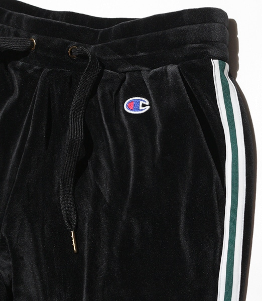 CHAMPION Velor Tapered Pants 2019FW