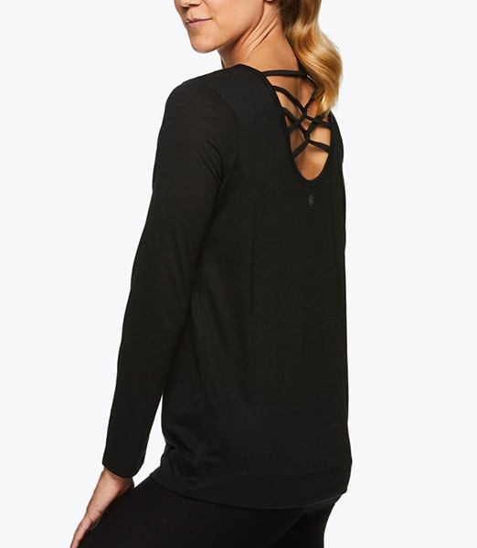 GAIAM Tessa L/S Strappy Backtop 2019FW