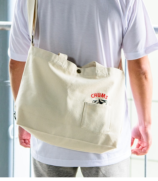 CHUMS Two Boobie Canvas Shoulder Bag 【OSHMAN'S別注】2019SS