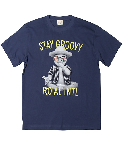 ROIAL Baby Stay Groovy Tee【OSHMAN'S別注】2019SS