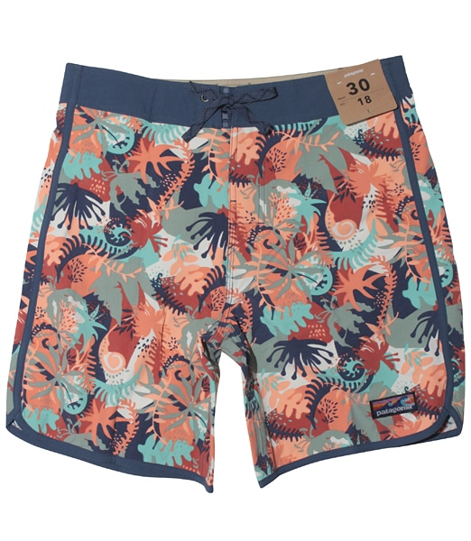 PATAGONIA Scallop Hem Stretch Wavefarer Boardshorts 2019SS
