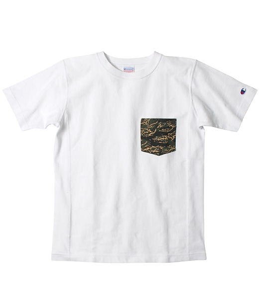 CHAMPION Reverse Weave Camo Pocket Tee 2019SS