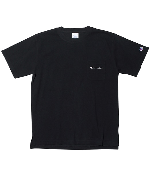 CHAMPION Pique Script Logo Pocket Tee 【OSHMAN'S別注】 2019SS
