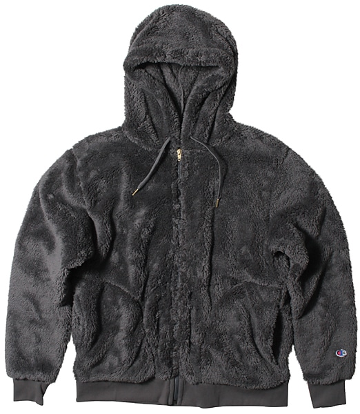 CHAMPION Sherpa Fleece Zip-Up Parka 【OSHMAN'S別注】 2019FW