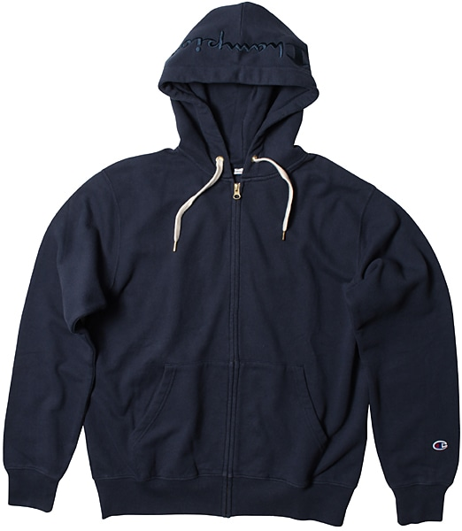 CHAMPION FULL ZIP HOODED SWEAT SHIRT 【OSHMAN'S別注】 2019SS