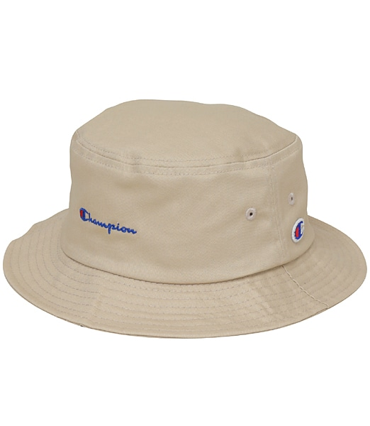 CHAMPION Twill Logo Bucket Hat 2019SS