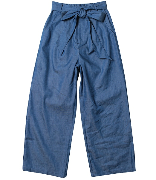 BLISS BLUE  Chambray Pants 2017SS