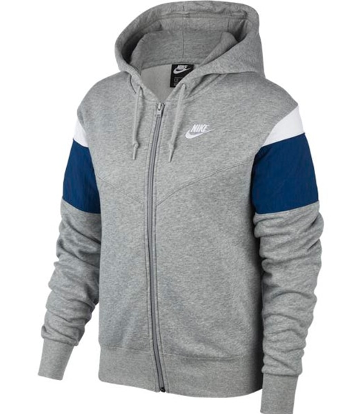 NIKE Heritage Full Zip Fleece Hoody 2020SP