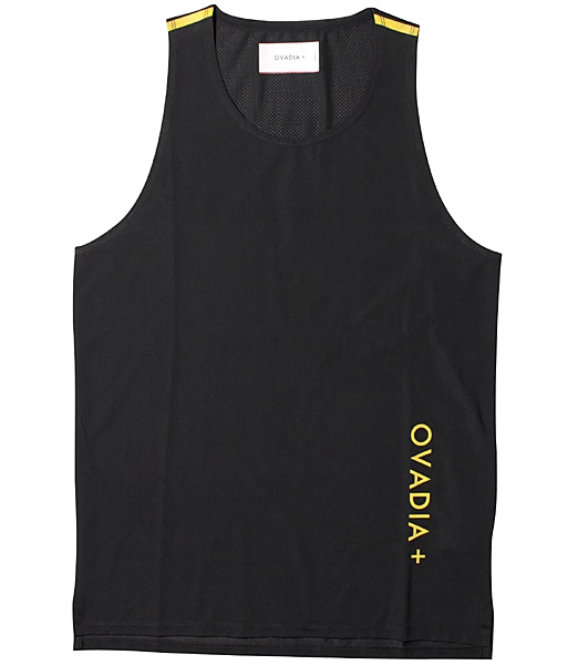 OVADIA+ Aire Performance Tank Black