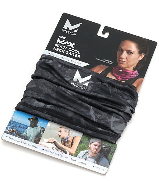 MISSION HydroActive MAX Multi-Cool Neck Gaiter&Headband