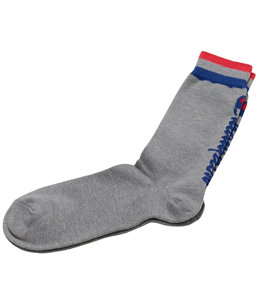 CHAMPION Full-Length Back Logo Socks