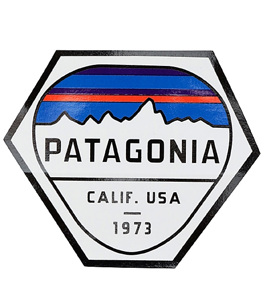 PATAGONIA Fitz Roy Hex Sticker 92071