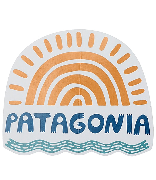 PATAGONIA No Dams Sticker