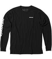 PATAGONIA Long Sleeved Text Logo Responsibili-tee 2018FW