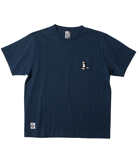 CHUMS DJ Booby Stitch Pocket T-Shirt【OSHMAN'S別注】2019SS