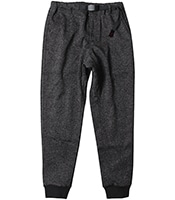 GRAMICCI Bonding Knit Fleec Narrow Rib Pants (GUP-18F016)