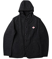 DANTON Wool Mosser Single Hood Jacket 2018FW