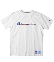 CHAMPION Colorful Script Logo Tee 2019SS