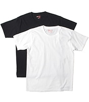 HANES Japan Fit Crew Neck 2P Tee(2Color)