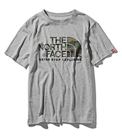THE NORTH FACE S/S Camouflage Logo Tee 2019SS