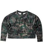 NIKE Dri-FIT Fleece Camo Rebel All In Top 2019FA