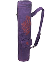 GAIAM Embroidered Cargo Mat Bag