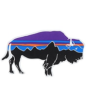 PATAGONIA Fitz Roy Bison Sticker 92063