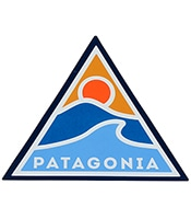 PATAGONIA Rolling Thru Sticker 92072