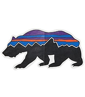 PATAGONIA Fitz Roy Bear Sticker 92067