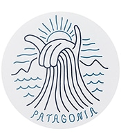 PATAGONIA Shaka Wave Sticker 92145